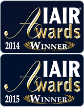 IAIR Awards Gold 2014 & 2015