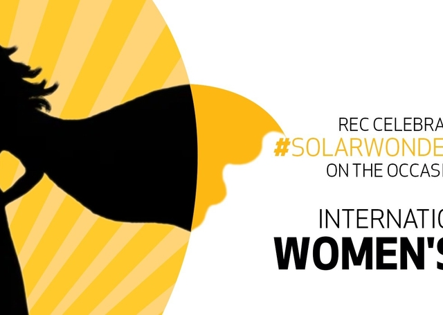 Visual for REC's Internal Women's Day 2021 campaign